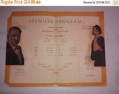"On Sale Hollywood Premiere ""The Champ"" , 1931 Program Grauman's Chinese , Jackie Cooper , Vice President Charles Curtis"