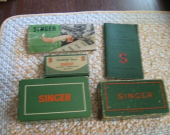 Singer Sewing Machine Parts and Manuals