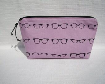 Geeky Eyeglasses Makeup Bag Cosmetic Bag