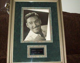 Errol Flynn Autographed Portrait- Was Purchased at a Gallery for 2,900.00