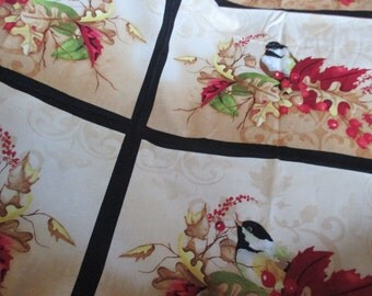 placemat or tablerunner panel A colorful Season  by Nancy Mink for Wilmington Prints