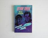 Star Trek  Book, Mission to Horatius, Sci Fi Book,  William Shatner, Hardcover Star Trek Book, Special Collectors Edition, Geek Chic