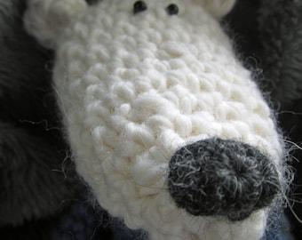 Crochet Pattern for Marco Polar Bear