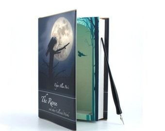 Edgar Alan Poe's The Raven - Large Secret Compartment Hollow Book Safe