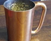 kitwe ambia vintage copper tankard