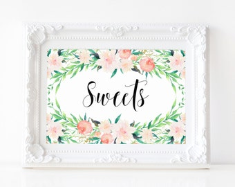 """Instant Download - Delicate Bouquet Sweets Print - 5""""x7"""""""