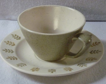Metlox Pepper Tree Teacup and Saucer