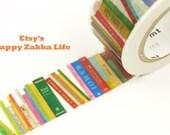 ON SALE Books - mt ex - Japanese Washi Masking Tape - 11 yards
