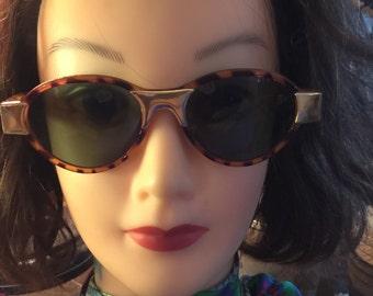 Vintage sunglasses tortoise shell 80's fashion