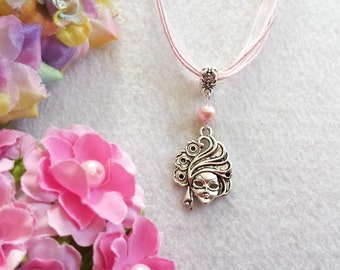 10 Masquerade Mask Necklaces Party Favors