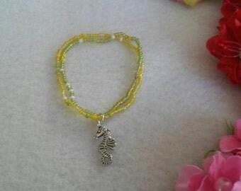 10 Sea Horse Bracelets Party Favors