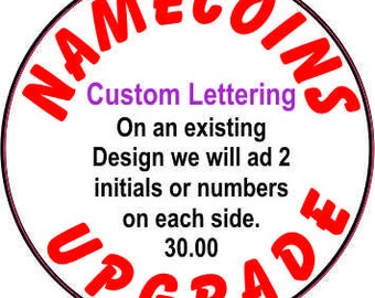 Custom Lettering Upgrade