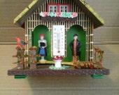 vintage German blackforest weather house nr 50