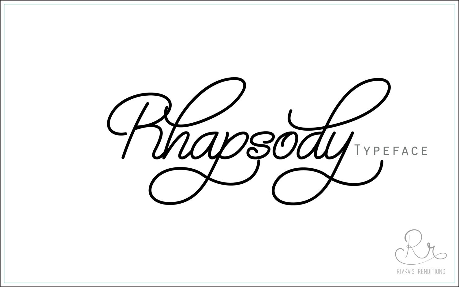 Handwriting Font Download Rhapsody Otf Ttf