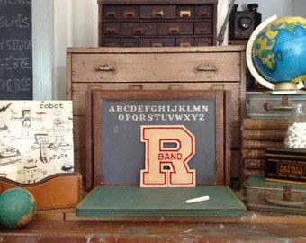 Vintage Ideal Chalkboard Schoolhouse Collection