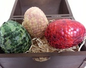 Game of Throne Handmade Dragon Eggs Daenerys Targaryen Arvilla RubyTM