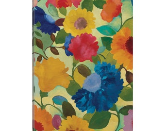 iCanvas Love Flowers II Gallery Wrapped Canvas Art Print by Kim Parker