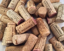 Corks Corks Corks, 50 Used Corks, Natural Wine Corks, Cork Craft Supply