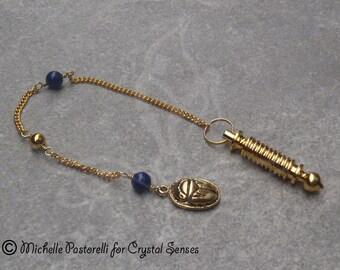 Egyptian Metal Dowsing Pendulum (DP00326)