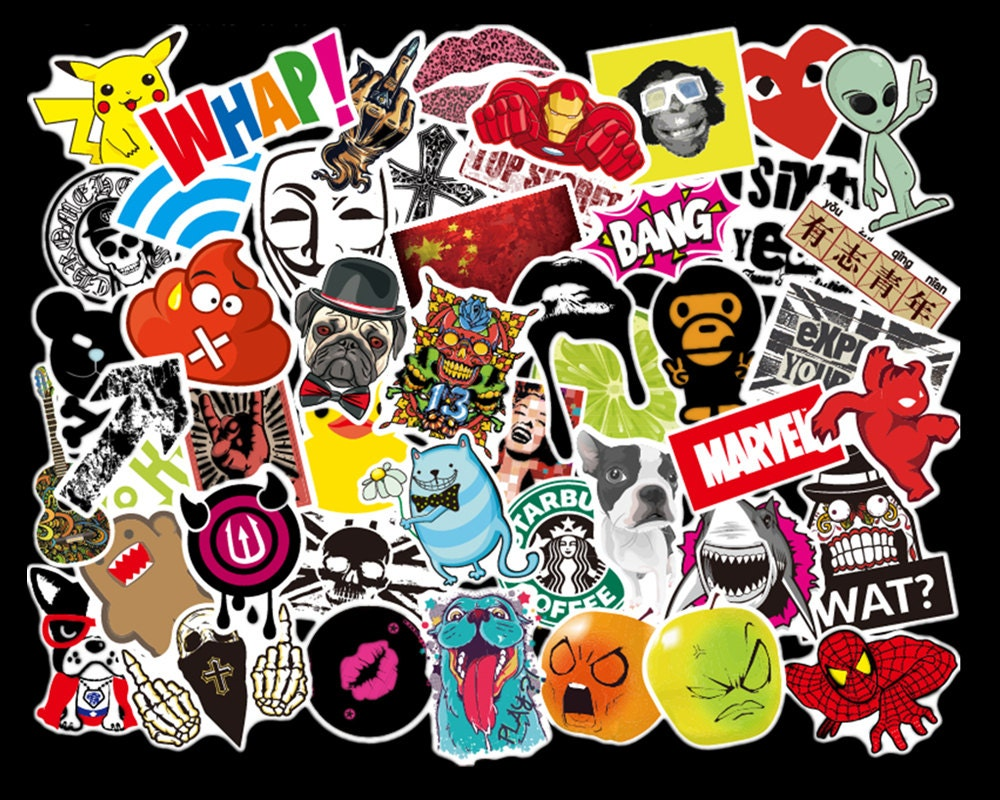 Sticker wall graffiti -  5 40