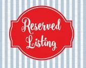 Reserved Listing for Merrill