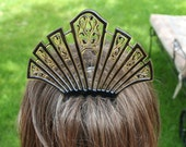 Victorian French Hair Comb