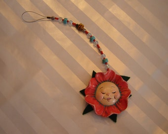 Sun Catcher-Baby Face Flower