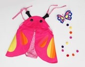 butterfly dress up romper for baby girls
