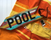 Pool Sign - Summer Decor - Pool Decor - Outdoor Decoration