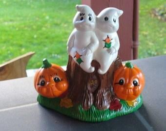 Ghost Couple on Stump