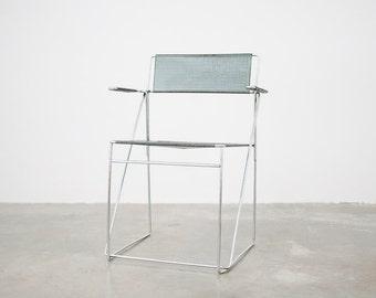 Mid Century Minimalist Metal Desk Chair