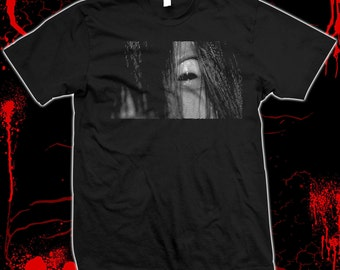 Ringu - The Ring - Japanese Horror - Pre-shrunk, 100% cotton silkscreened t-shirt
