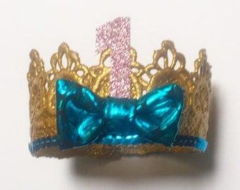 Mermaid birthday crown