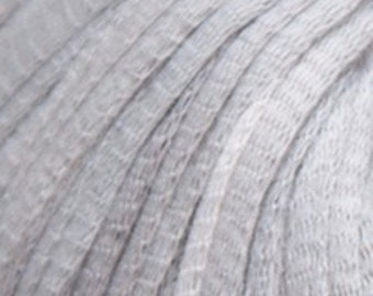 Debbie Bliss Delphi - 100% Soft Cotton - Bulky Weight - 54 yds/ball - Silver