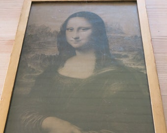 Vintage Mona Lisa picture