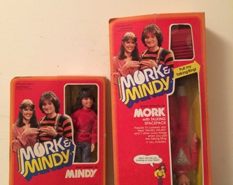 Original Mork and Mindy dolls!