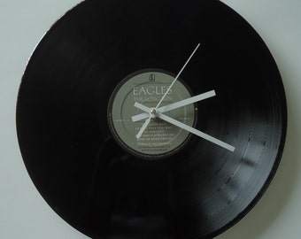 Eagles The Long Run Vinyl Record Clock
