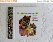 CHRISTMAS In July SALE The Three Bears, Original Little Little Golden Book, 1990s Miniature Classics 24 Pages-New Old Stock Unused
