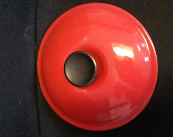 Le Crueset Red/LID #18 SAUCEPAN/No Pot/Made in France