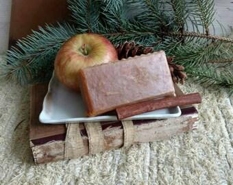 Holiday Spice Soap - Handmade Amish Goats Milk Soap, Farmhouse Fresh, Spicy Soap, Authentic Amish Made Bath/Shampoo Bar, Hand Made Soap Gift