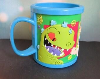 Vintage Rugrats Mug / Rugrats Mug / Tommy Pickles / Chuckie / Reptar / 90s Nickeloden / Nickeloden Rugrats