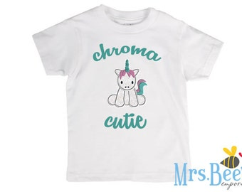 Chroma Cutie Tee Shirt - Down's Syndrome, Genetic Disorders / Conditions