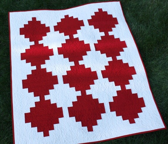 Wall quilt quilt on sale modern quilt art quilt home for Modern house quilts