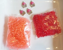 50 grams 4mm Spacer Beads, S43