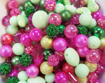 SALE! BULK! 200CT. 10mm & Larger Bead Collection, A5