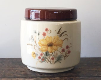 Vintage McCoy Pottery Kitchen Canister Cookie Jar with Lid No 214