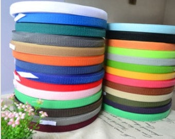 10 Yard 20mm width sewing nylon migic velcro tape L2KN82 IV-18A1 hook and loop free ship