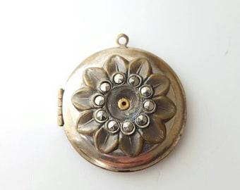 Antique Flower Locket