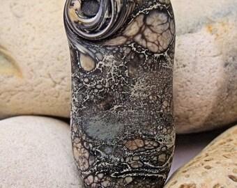 Masik Celt, Lampwork Focal Bead, SRA, UK