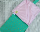 CUSTOM Baby Waterproof Changing Pad with Pockets